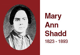 Mary Ann Shadd